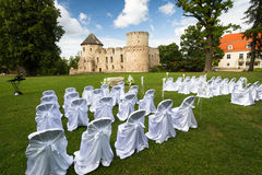 Lugares de la ceremonia de boda Fotografía de archivo libre de regalías