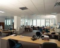 Lugares de trabajo de oficina Imágenes de archivo libres de regalías