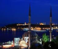 Lugares Estambul-Populares Imagen de archivo