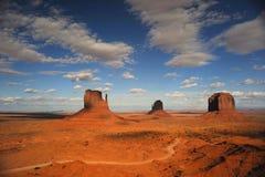 Lugares famosos dos EUA. Vale do monumento Fotos de Stock