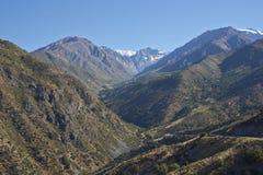 Lugares geométricos de Yerba - Chile Imágenes de archivo libres de regalías