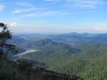 Lugares hermosos del cielo del bosque de Asia Vietnam de las montañas Fotos de archivo libres de regalías