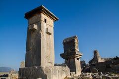 Lugares históricos em antalya Turquia Fotografia de Stock