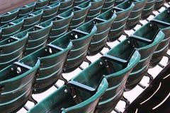 Lugares vazios em uma mostra ao ar livre Imagem de Stock