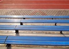 Lugares vazios no estádio da escola Fotos de Stock