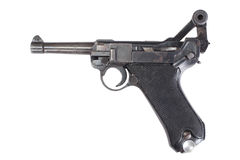 Luger P08 Parabellum Royalty Free Stock Photography