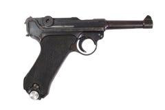 Luger P08 Parabellum handgun Stock Images