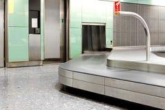 Luggage area Stock Photo