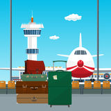 Luggage Bags for Traveling Royalty Free Stock Photo