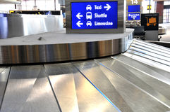 Luggage Carousel Royalty Free Stock Image