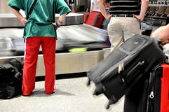 Luggage Carousel Royalty Free Stock Photography
