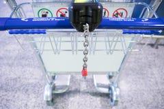 Luggage cart Royalty Free Stock Photos