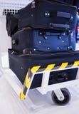 Luggage cart Stock Image