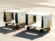 Luggage carts Royalty Free Stock Photo
