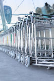 Luggage carts Royalty Free Stock Photography