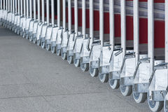 Luggage carts Stock Photography