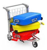 The luggage Stock Photography
