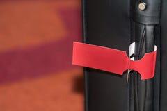 Luggage handle Stock Image
