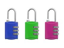 Luggage Lock Royalty Free Stock Image