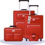 Luggage set Royalty Free Stock Photos