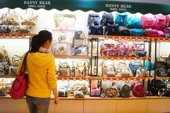 Luggage shop Stock Images