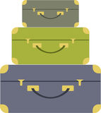 Luggage Stack Royalty Free Stock Photo