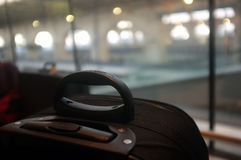 Luggage in station Stock Photos