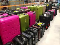 Luggage Store Stock Images