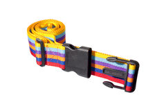 Luggage Strap. Isolated colorful Luggage Strap Royalty Free Stock Image