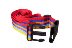 Luggage Strap. Isolated colorful Luggage Strap Royalty Free Stock Images
