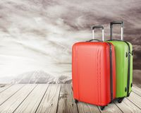 Luggage. Suitcase Travel Business Black Commercial Airplane Wheel royalty free stock image