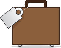 Luggage with Tag Royalty Free Stock Image