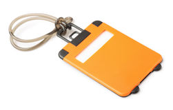 Luggage tag Stock Image