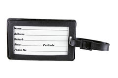 Luggage Tag Stock Images