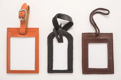 Luggage tags  Royalty Free Stock Images