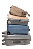Luggage and traveling bags Royalty Free Stock Photography