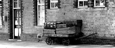 Luggage Trolley stock images