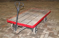 Luggage Trolley. Royalty Free Stock Photography
