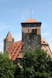 Luginsland Tower at Nuremberg Castle Royalty Free Stock Photo