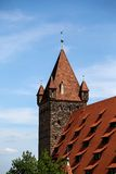 Luginsland Tower at Nuremberg Castle Royalty Free Stock Image