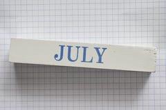 luglio Fotografie Stock Libere da Diritti