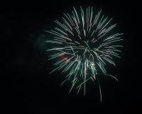 4 luglio celebrazione dei fuochi d'artificio in Nord Carolina Fotografia Stock Libera da Diritti