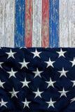 4 luglio fondo di stelle e strisce Immagine Stock Libera da Diritti