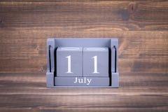 11 luglio giorno della popolazione mondiale Immagini Stock Libere da Diritti
