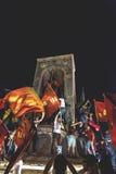 15 luglio proteste di tentativo di colpo a Costantinopoli Fotografia Stock Libera da Diritti