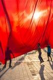 15 luglio proteste di tentativo di colpo a Costantinopoli Fotografie Stock Libere da Diritti