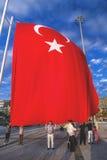 15 luglio proteste di tentativo di colpo a Costantinopoli Immagini Stock Libere da Diritti