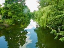 Lugn av floden royaltyfri foto