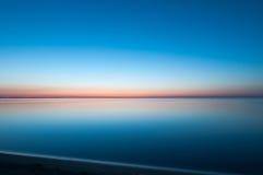 Lugn på Lake Erie Royaltyfria Foton