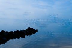 Lugn vid sjön Royaltyfri Foto